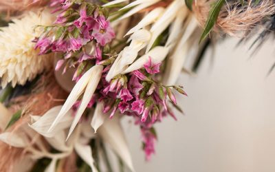 Dekorationen mit Trockenblumen – Floral Hoops sind  Trend