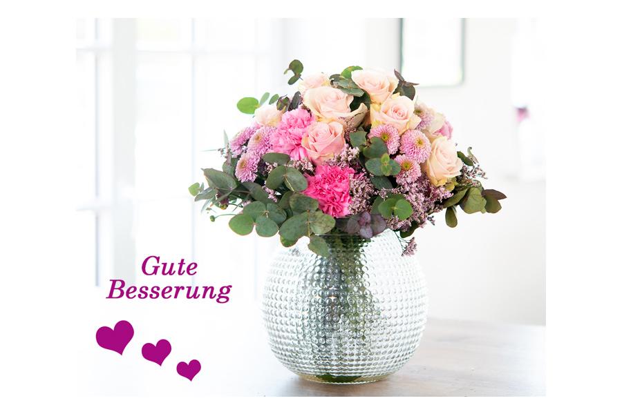 Blumen ins Krankenhaus liefern lassen
