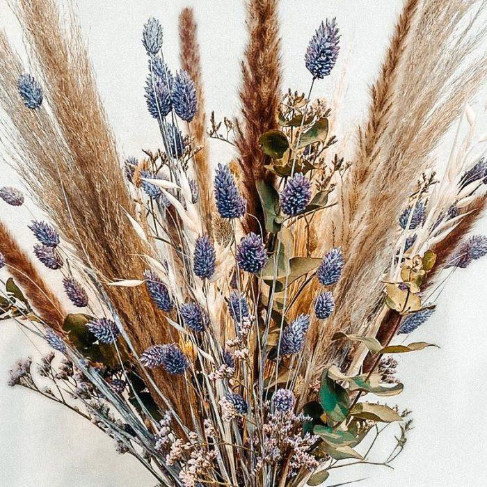 Trockenblumen Trend Dry Flower als Strauß